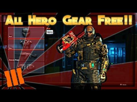 Black Ops 3 Glitches: ''All GOLD HERO UNLOCK GLITCH'' BO3 Gold Hero Glitch After Patch 1.06 (All Con