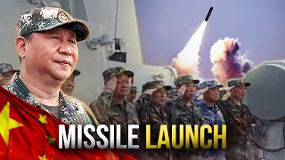 Chinese Missile Launch in South China Sea