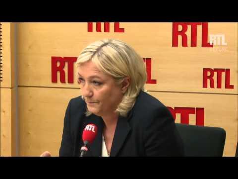 Marine Le Pen se réjouit de
