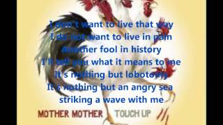 Mother Mother Angry Sea Lyrics