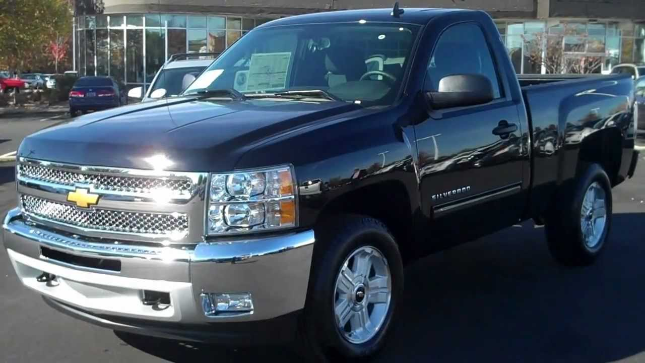 2013 Chevrolet Silverado Reg Cab 4wd Z71 Black, Burns Chevrolet, Rock Hill SC - YouTube