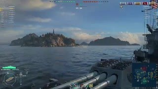 World of Warships - New Mexico gameplay
