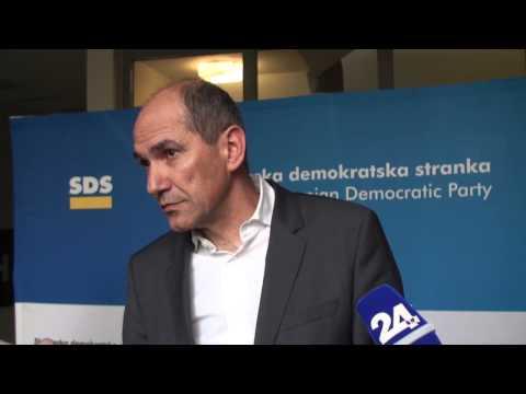Janez Janša po Svetu SDS 11. april 2015
