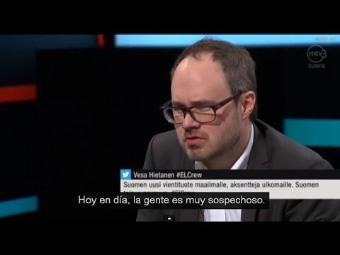 LA CHICA QUE HABLA VARIOS IDIOMAS - ENTREVISTA TELEVISIVA (SUBTITULADA) MTV3