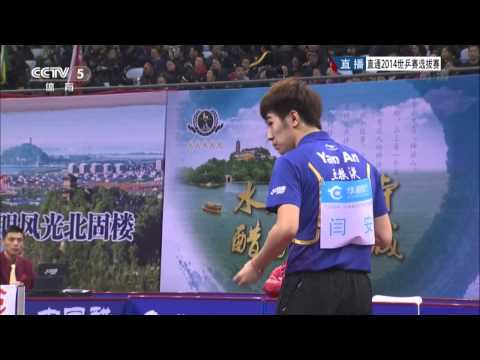 2014 China Trials for WTTTC: WANG Hao - YAN An [HD] [Full Match/Chinese]