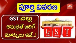 GST అమలు ప్రభావం ఇలా ఉండబోతుంది | Impact of GST Bill Implementation in India