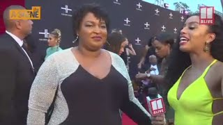 Tyler Perry Studios opening - Stacey Abrams