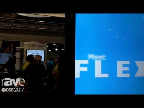 DSE 2017: Keyser Talks About FLEX Flexible Signage Solutions