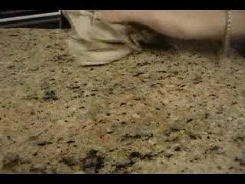 Granite Countertops Lowes Vs Home Depot : Granite Shield VS Stonemark Granite by Home Depot - YouTube
