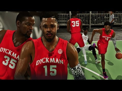 KHALIL DUNKS ON SMITH! KD KNOCKS OUT DEFENDER - NBA LIVE 18 THE ONE #4