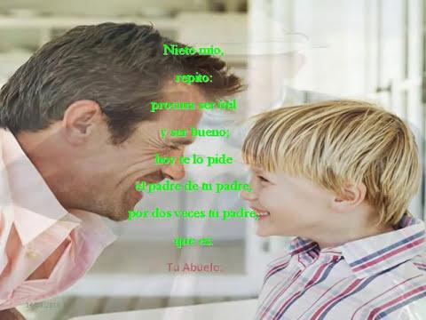 Mensaje a mi nieto.  Autor: Juan Burghi...