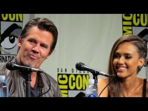 Sin City 2 Cast at Comic-Con 2014: Jessica Alba, Josh Brolin, Rosario Dawson, Frank Miller