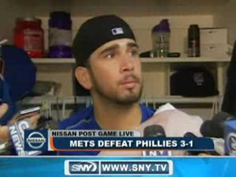 SNY.tv - Post Game: Oliver Perez 07-24-2008