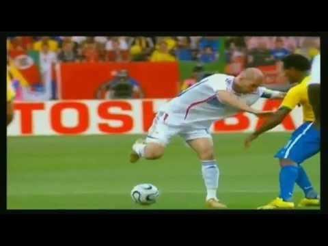 Zinedine Zidane  Os 10 melhores Dribles de todos os Tempos  Top 10 Best Ever Moves