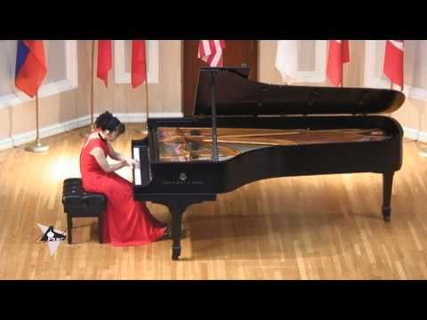 Ayane Shoda at the International Russian Piano Competition plays Tchaikovsky's