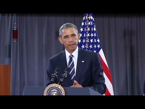 President Obama Visits Camden