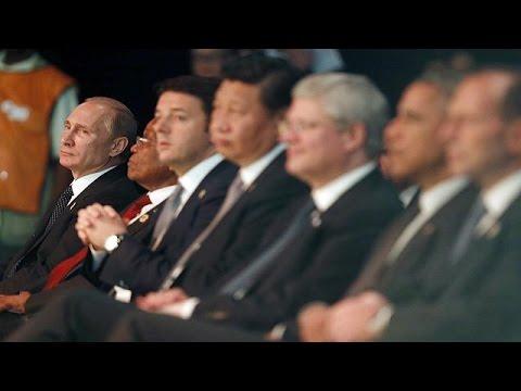Ukraine crisis overshadows start of G20 summit