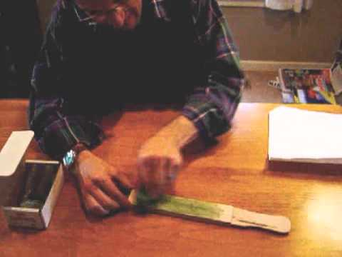 Sharpening Convex Edges (5) - Building a Strop