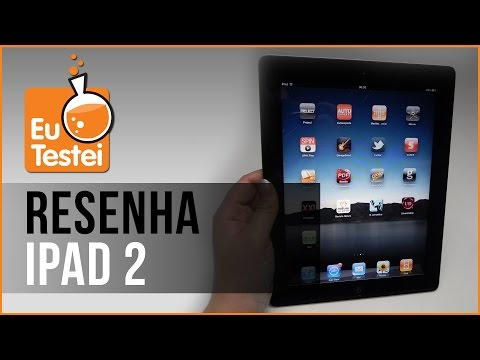 Tablet Apple iPad 2 Wi-Fi 16GB - Resenha Brasil