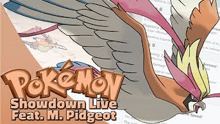 Mega Pidgeot Team! Pokemon Sun and Moon OU Showdown Live W/OPJellicent (Smogon Sun/Moon OU Team)