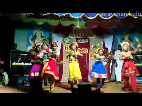 Ulagamellam Padachavale  School  Videos  Kunnathur Song 2