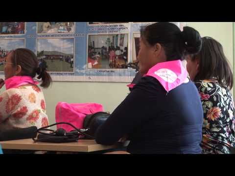 Low Income Families Access Mongolia's Health Services