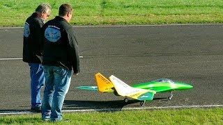 HOTSPOT 2 RC ELECTRIC MODEL JET FLIGHT DEMONSTRATION