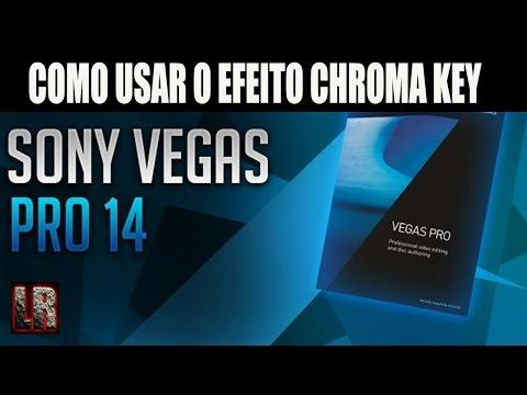 Como Usar O Efeito Chroma Key no Sony Vegas Pro 14.0