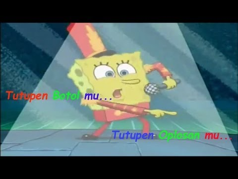 Goyang Oplosan Versi Spongebob video