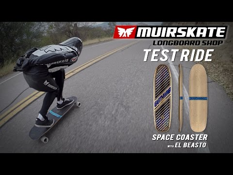 Test Ride Earthwing Space Coaster with El Beasto | MuirSkate Longboard Shop