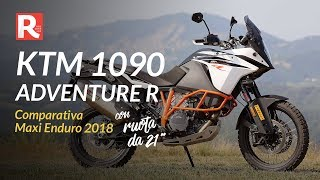 KTM 1090 Adventure R - Comparativa Maxi Enduro 2018