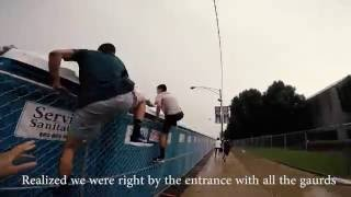 Lollapalooza fence jumpers 2016 (POV)