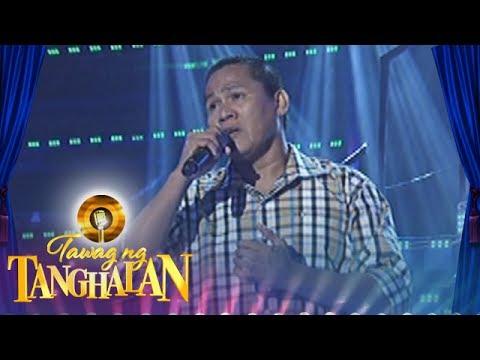 Tawag ng Tanghalan:  Manny Lucas   My Love Will See You Through
