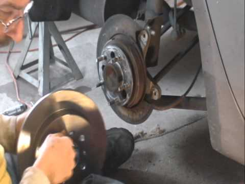 07 Chevy Impala Rear Brakes