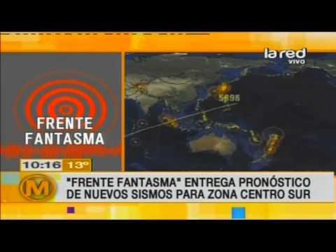 El líder de Frente Fantasma nos entrega nuevos pronósticos sobre los sismos