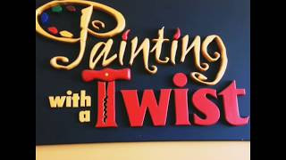 Painting with a Twist - Kingwood (Preparing for a class)