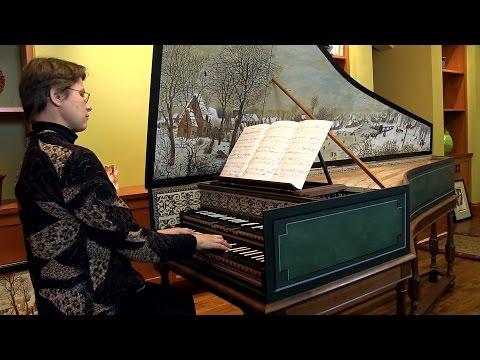 D'Anglebert: Prelude in D Minor; Hanneke van Proosdij, harpsichord