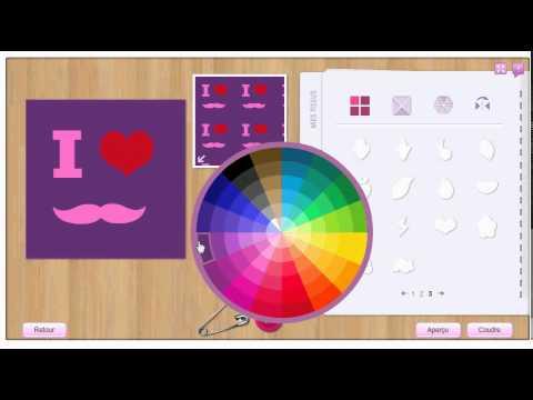 stardoll comment faire un tee shirt i love moustache dans le stardesign youtube. Black Bedroom Furniture Sets. Home Design Ideas