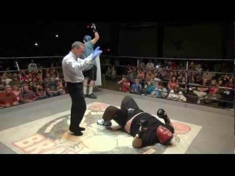 """Bucky Boyd Fight vs Daniel """"The Tree"""" Shrewsbury - 'The Thrilla In West Virginia' - 3/1/13"""