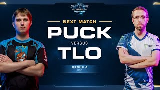 puCK vs TLO PvZ - Group A Winners - WCS Challenger NA Season 1