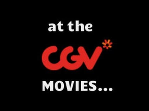 At the Movies(CGV) in Korea!