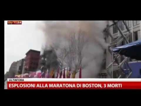 Boston Marathon; Esplosione Maratona Boston, più di 100 feriti negli ospedali 15-04-2013