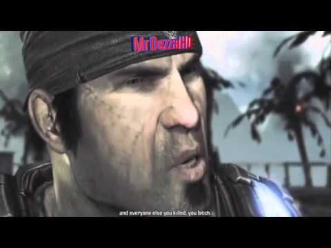 Gears Of War 3: Campaign Ending + Adam Fenix`s Death Scene *REAL*