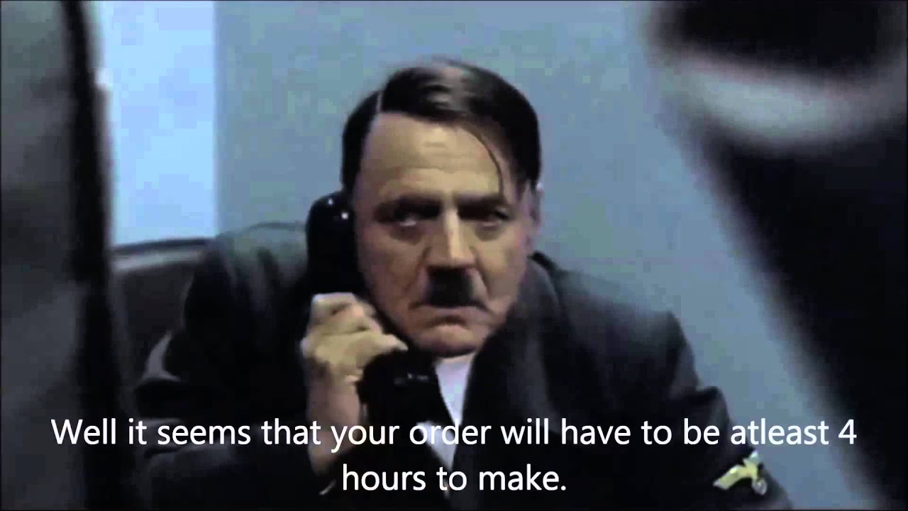 Hitler, an ER charge nurse getting report from morning