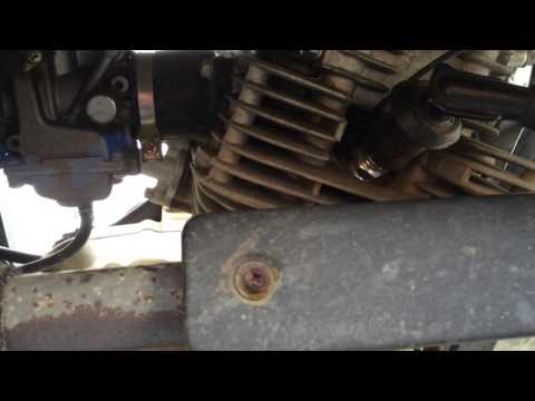 2006 Baja Motorsports Wilderness Trail 250 Engine Tick