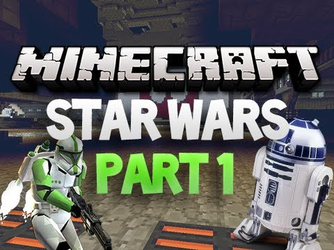 Minecraft: Star Wars Adventure Map - Part 1 w/ Sky