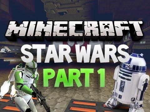 Minecraft: Star Wars Adventure Map - Part 1 w/ Sky
