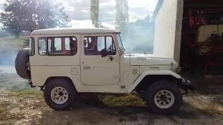 Start UP Old Diesel 1979 Bj 40 Toyota land cruiser 4x4 HD, old start