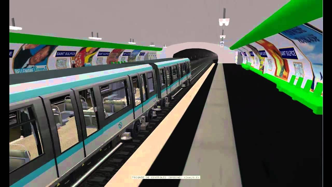 msts metro parisien ligne 4 porte de clignancourt
