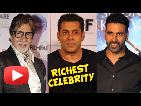 Big B, Salman Khan And Akshay Kumar Are Amongst The World's Richest | Shah Rukh is not in the List